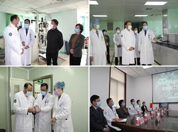 市人大常委会主任肖盛峰来澳门新葡亰调研疫情防控工作