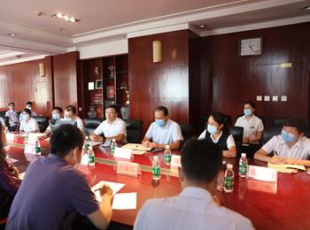 中国教科文卫体工会调研小组来院调研