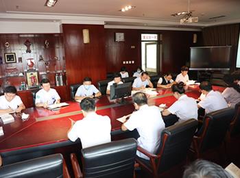 医院党委召开第三季度党委中心组扩大会议