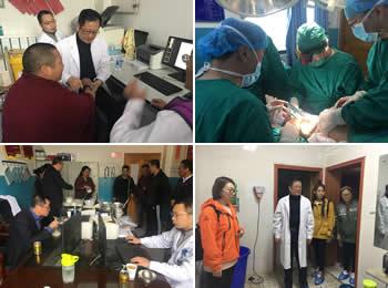 医院医疗小分队赴西藏索县开展精准医疗帮扶