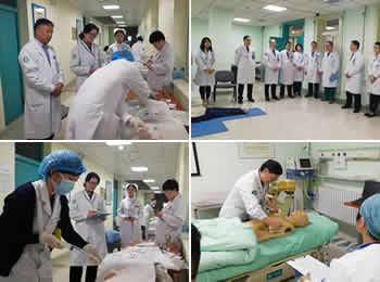 医院举办青年医护人员临床技能大赛