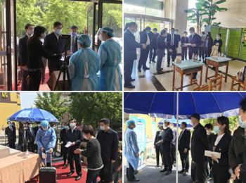 中山临床学院组织开展学生返校复学疫情防控演练