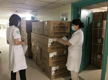 【戰疫前線】加強防疫物資儲備 確保應急保障到位