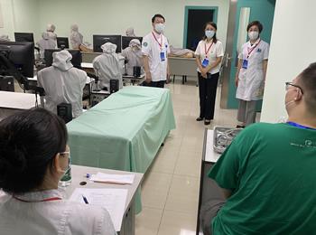 我院承办国家住院医师规范化培训内科专业结业技能考核