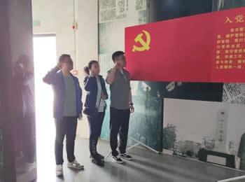大连中山司法鉴定中心在旅顺开展党史教育