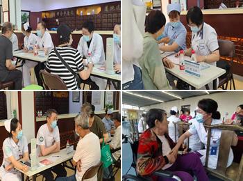 远程巡诊医疗队携手内外科专家开展义诊活动