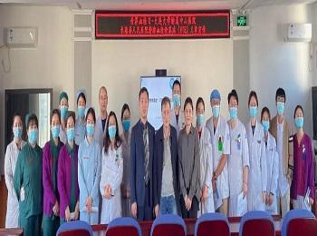 我院与长海县人民医院联合开展静脉血栓闭塞症义诊宣传